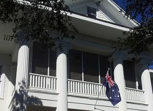 Australian Flag at The Fairview