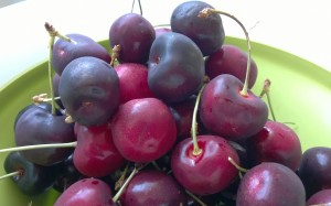 Cherries are a great choice for a gluten free or other special diet