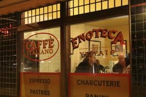Front Window of Enoteca Ristoranti
