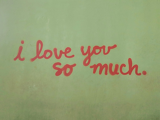 I Love You So Much mural on S. Austin